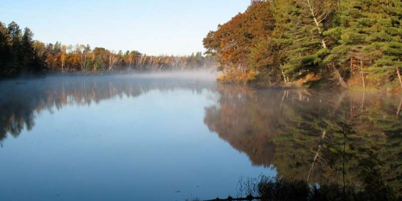 We overlook the enchanting Chippewa Flowage!